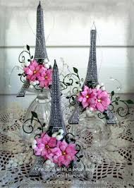 Eiffel Tower Table Centerpieces Chocolate Crafts And Bears Oh My Eiffel Tower Ornaments