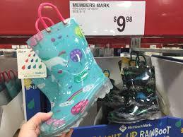 light up rain boots sam s club finds kids unicorn light up rain boots just 9 98 lots