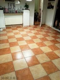 floor painting a tile floor home design ideas
