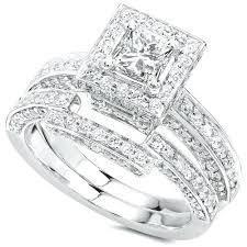 cheap wedding sets cheap diamond bridal sets rings s s diamond bridal set rings pinster