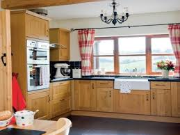 Wooden Furniture For Kitchen by French Country Kitchen Valances Simple Red Toile Drapes Custom