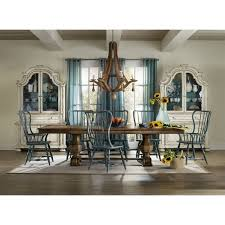 Hooker Furniture Sanctuary Spindle Arm Dining Chair In Blue - Hooker dining room sets
