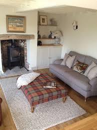 Decorative Armchairs Mesmerizing Scottish Living Room Design Dark Green Leather