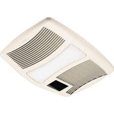 Home Depot Bathroom Fan Light Qtx Series Very Quiet 110 Cfm Ceiling Exhaust Fan With