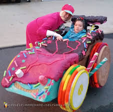 Wreck It Ralph Costume It Ralph Family Costume With Sugar Racer Wheelchair Costume