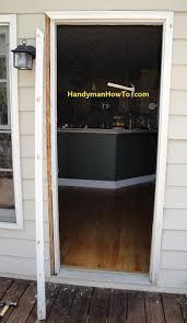 How To Install A Prehung Front Door How To Replace An Exterior Door Part 1