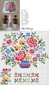 550 best cross stitching flowers images on pinterest cross