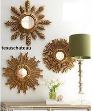 Baroque Home Decor Baroque Rococo Style Gold Round Home Décor Mirrors Ebay