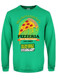 michelangelo s pizzeria s green sweater inspired by tmnt