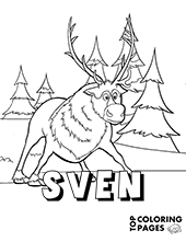 Frozen Free Coloring Pages Sheets Elsa Anna Olaf Sven Frozen Free Coloring Pages