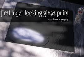 Krylon Transparent Spray Paint - diy haunted ghostly mirror with krylon looking glass paint tutorial