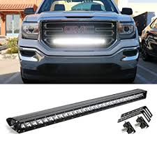 led lights for 2014 gmc sierra ijdmtoy 30 150w high power cree led light bar with hidden behind