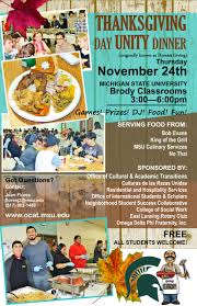 thanksgiving unity dinner welcomes all nov 24 msutoday
