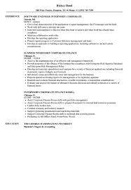 economics major resume internship corporate resume samples velvet jobs