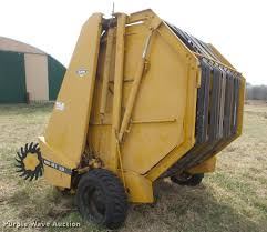 1974 vermeer 605c round baler item db0570 sold april 19