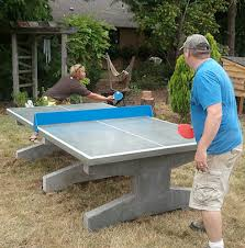 used outdoor ping pong table outdoor table tennis tables