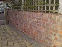 Garden Walls And Fences by Convertable 7 Brick Wall Design On Brick Wall Design Walls And