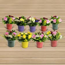 floral centerpieces 9 mini floral centerpieces grower s choice