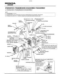 servicing the right and hydrostatic transmission snowblower