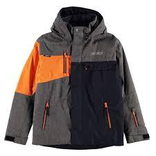 nevica kids zan jacket junior boys snow winter sports full zip