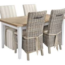 rattan kitchen furniture amazing rattan dining chairs with wicker kitchen table rattan