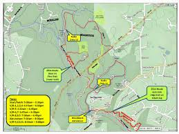 Dupont State Forest Trail Map by Freedom Area Cycling Patapsco Valley State Park Trail Maps