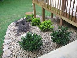 Landscape Ideas For Front Of House by Best 20 Landscaping Around Deck Ideas On Pinterest U2014no Signup