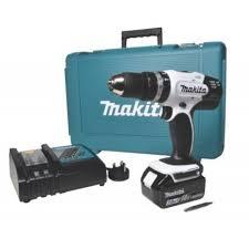 makita dhp453rfw 18v 3 0ah li ion lxt cordless combi drill