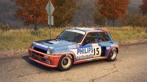 renault 5 rally historical liveries