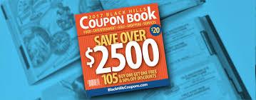 South Dakota travel coupons images Black hills coupon book jpg