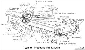Used Ford F250 Truck Parts - ford truck technical drawings and schematics section h wiring