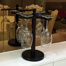 popular wood wine glass rack buy cheap wood wine glass rack lots