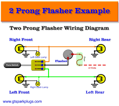 2 prong flasher relay wiring diagram 2 free wiring diagrams