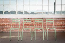 Green Bistro Chairs The Batz Green Bistro Chairs Pieces By Violet Vintage Rentals