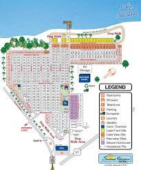 Map Of Sebring Florida adelaide shores rv resort