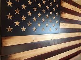 15 best wall decor images on wooden american flag