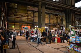 exploring amsterdam the flea market in europe