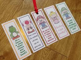 mario brothers bookmarks super mario luigi yoshi toad