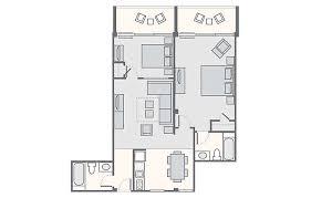 2 Bedroom Suite Daytona Beach Daytona Seabreeze Bluegreen Vacations