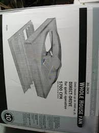 attic aire whole house fan aire 30 inch whole house fan 5700 cfm