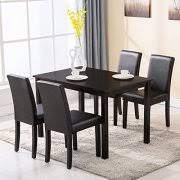 black dining room sets dining room sets walmart com