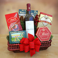 Wine Baskets Ideas Holiday Gift Basket Stella Rosa Wines Sweet Red Wines