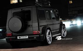 matte black mercedes g class run dpe prior design mercedes g class essential style for