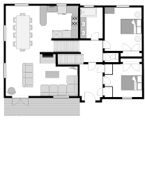 scale floor plan chamonix accommodation le bois rond
