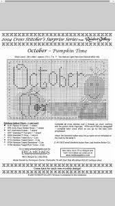 481 best halloween fall stitches images on pinterest cross