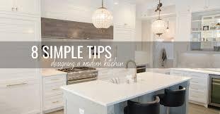 simple modern kitchen cabinet design 8 simple tips for designing a modern kitchen