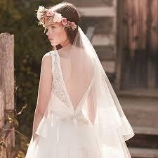 bridal veil handmade fingertip length boho wedding veil two tier tulle veil