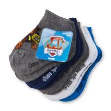 nickelodeon paw patrol 5 pairs toddler boy u0027s socks