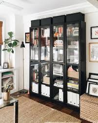 Bookcases With Glass Shelves Billy Bookcases With Grytnäs Glass Doors Ikea Hackers Ikea