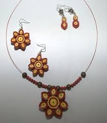 quilling earrings set quilled earrings pendant clasf